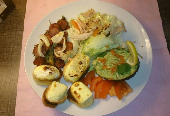 Patchwork de salade