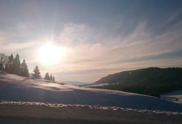 Vue panoramique sur la Combe du Tressus